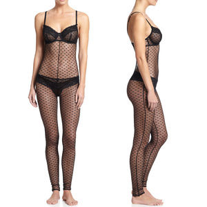 NEW Mimi Holliday Black Scarlet Ibis Catsuit XSNWT for sale